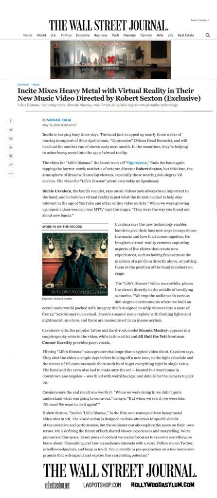 Wall Street Journal_Robert Sexton